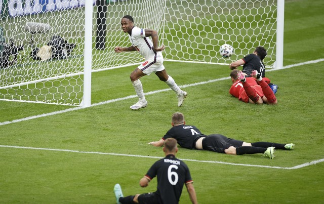 Raheem Sterling strzelił już trzy gole dla Anglików w Euro 2020