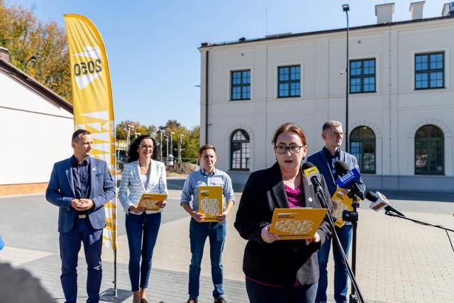 Polska 2050 Podlaskie przypomina o kończącym się w niedzielę 12 września terminie przesyłania ankiet dotyczących budowy Północnej Kolejowej Obwodnicy Białegostoku