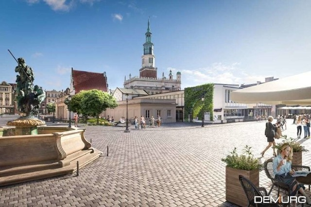 Już w przyszłym roku rozpoczną się prace nad przebudową Starego Rynku.Przejdź do kolejnej wizualizacji --->
