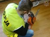 W Łebie zatrzymano 2 osoby, które chciały ukraść drewno