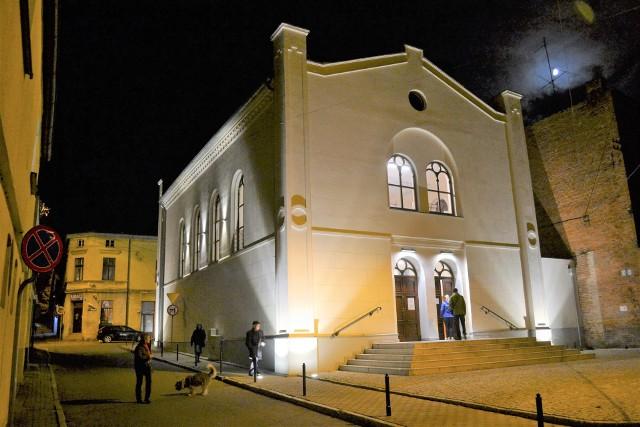 Na trasie spaceru po Koronowie m.in. była synagoga