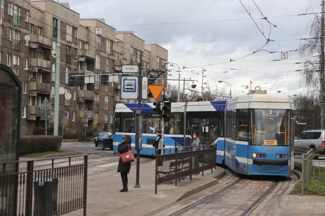 Ograniczenie prędkości dla tramwajów na kluczowym skrzyżowaniu w centrum: Kazimierza Wielkiego / Nowy Świat / św. Mikołaja. W szczycie komunikacyjnym jeździ tutaj 35 tramwajów na godzinę