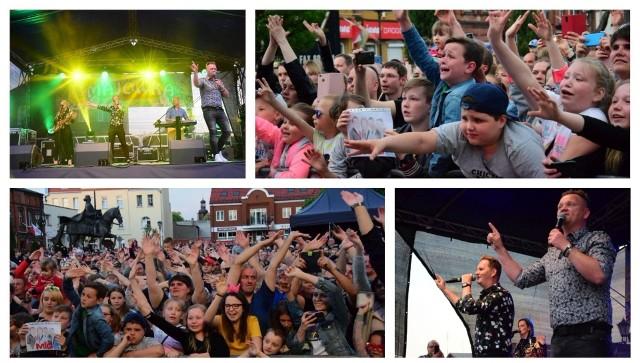 Zespół Mig był gwiazdą tegorocznej majówki w Gniewkowie. Na Rynku bawiło się kilka tysięcy fanów tej grupy.