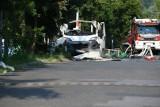 Wybuch furgonetki z gazem w Częstochowie. Dwie osoby zginęły. To była eksplozja butli z acetylenem
