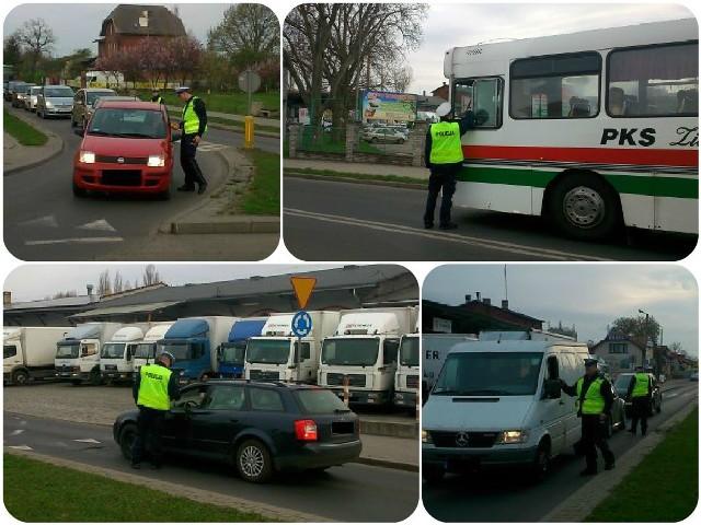 Na ul. Dworcowe w Zielonej Górze przebadano blisko 400 kierowców.