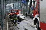 Uwaga! Most im. Piłsudskiego zablokowany!
