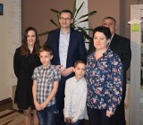 Premier Mateusz Morawiecki odwiedził rodzinę z Gołczy