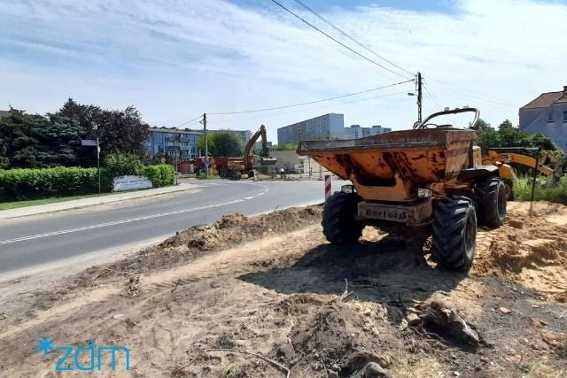 Prace budowlane powinny zakończyć się w połowie października - informuje ZDM