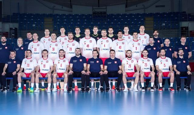 Reprezentacja Polski piłkarzy ręcznych na mistrzostwa świata w Egipcie.