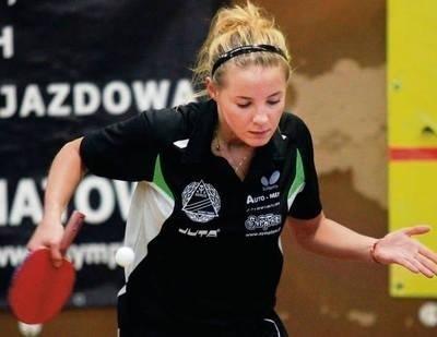 Małgorzata Kalawa wywalczyła komplet punktów Fot. Maciej Zubek