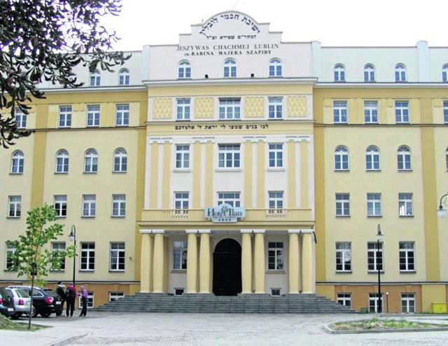 W budynku przedwojennej jesziwy przy ul. Lubartowskiej zacznie działać hotel
