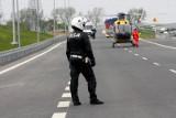 Groźny wypadek pod Wrocławiem. Lądował śmigłowiec LPR
