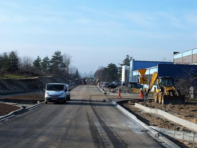 Przebudowa dróg na terenie parku przemysłowego Metalchem w Opolu