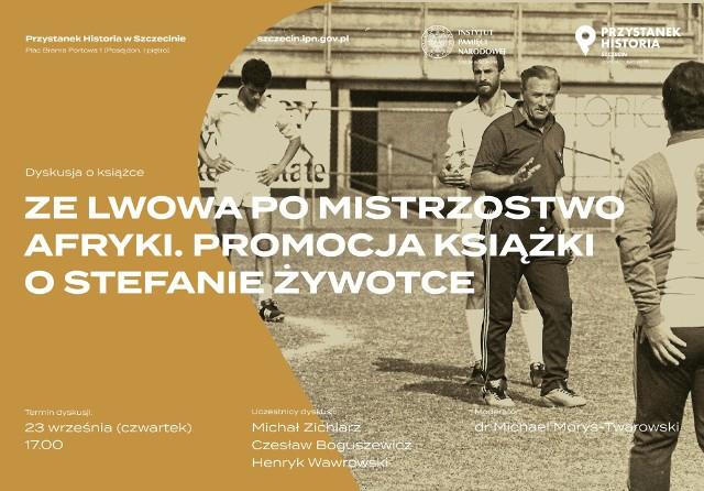 Spotkanie z autorem dziś, 23 września o 17.00 na Bramie Portowej w Szczecinie w Przystanku Historia w Posejdonie.
