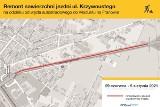 Poznań: Szykujcie się na utrudnienia na ul. Krzywoustego. Przez miesiąc wlot do miasta będzie mieć zmienianą jezdnię