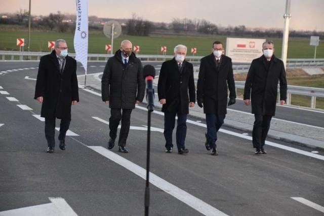 W piątek, 5 marca premier Mateusz Morawiecki brał udział w otwarciu wschodniej obwodnicy Wrześni. Spotkanie zakłócił Michał Kołodziejczak z Agrounii wraz z innymi rolnikami.