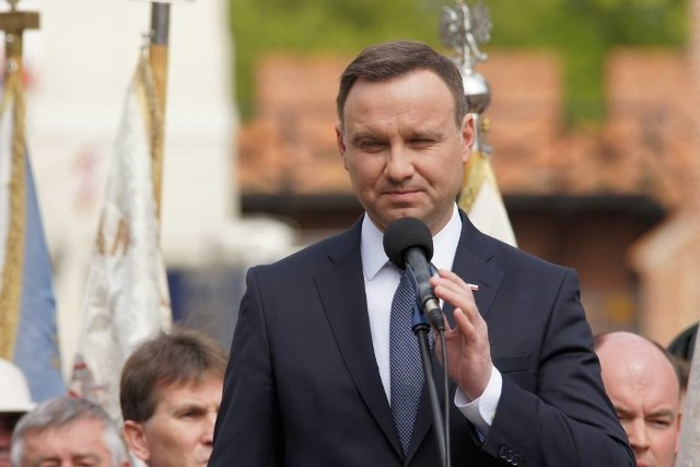 Prezydent Andrzej Duda w Kaliszu
