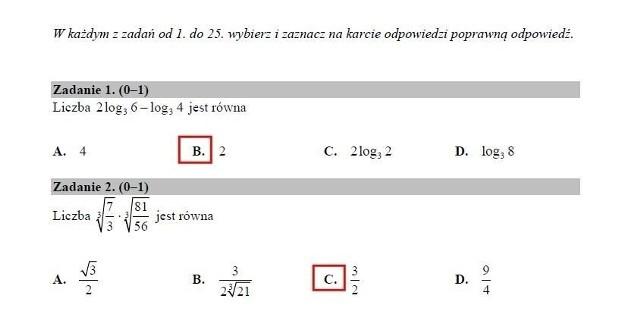 Matura MATEMATYKA [ARKUSZE CKE, ODPOWIEDZI]. Co było na egzaminie maturalnym z matematyki? Arkusze, odpowiedzi, tematy, rozwiązania 07.05