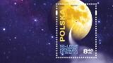 Wydano znaczek dla uczczenia 50-lecie lądowania człowieka na Księżycu