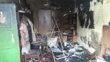 Nocny pożar kamienicy na Kośminku. W ogniu zginęli matka i syn