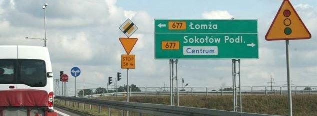 Te tablice już niedługo zostaną zastąpione nowymi - z Ostrołęką