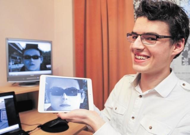 """Jeśli Petros Psyllos zrealizuje swój projekt, niewidomi będą mieli sprzęt, dzięki któremu np.""""zobaczą"""" przeszkody, twarze znajomych i będą mogli czytać książki."""