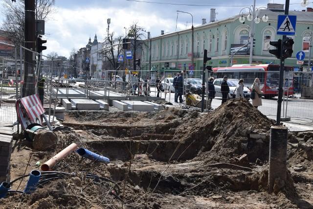 Przebudowa linii tramwajowej w centrum CzęstochowyZobacz kolejne zdjęcia. Przesuwaj zdjęcia w prawo - naciśnij strzałkę lub przycisk NASTĘPNE