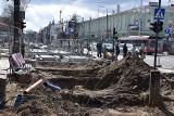 Częstochowa. Przebudowa linii tramwajowej w centrum. Wykonawca deklaruje, że inwestycje zakończy się w połowie 2021 roku