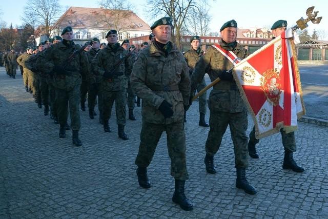 Rozpoczęcie roku szkoleniowego w sulechowskich koszarach
