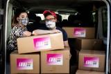 Aktywiści z LGBTQ rozdali w województwie lubelskim tęczowe maseczki. Tak chcą walczyć z epidemią koronawirusa