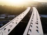 Nowe zdjęcia z placu budowy ekspresowej ZAKOPIANKI S7. Zima wcale nie wystraszyła drogowców! 30.12.2020