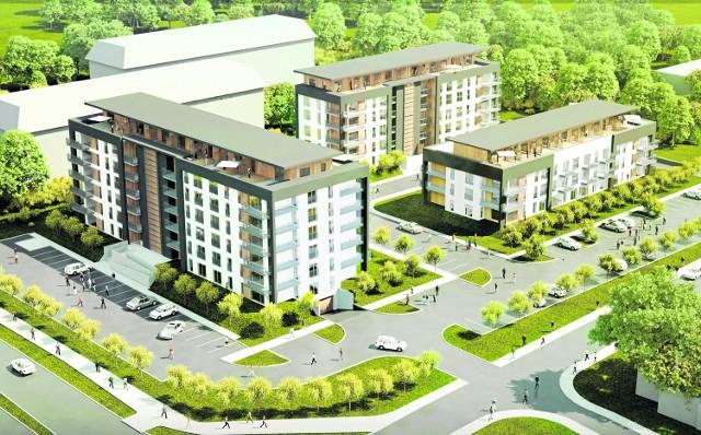 Tak będzie wyglądać nowoczesne osiedle, które powstanie wkrótce przy ulicy Granicznej