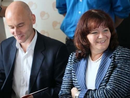 Tadeusz Arłukowicz i Barbara Kudrycka