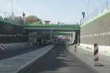 Przebudowa węzła Piotrowice na finiszu. Tunel już otwarty, ale na skrzyżowaniu Kościuszki i Armii Krajowej wciąż trwają prace