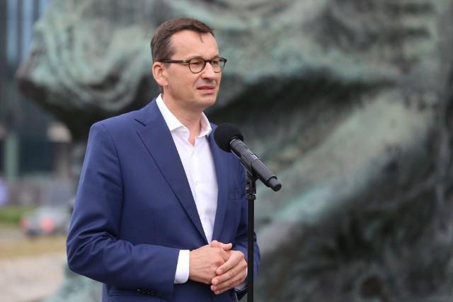Premier Mateusz Morawiecki był we wtorek, 18 sierpnia w Katowicach