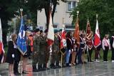 Obchody 82. rocznicy wybuchu drugiej wojny światowej w Częstochowie. Główne uroczystości odbyły się na Placu Pamięci Narodowej