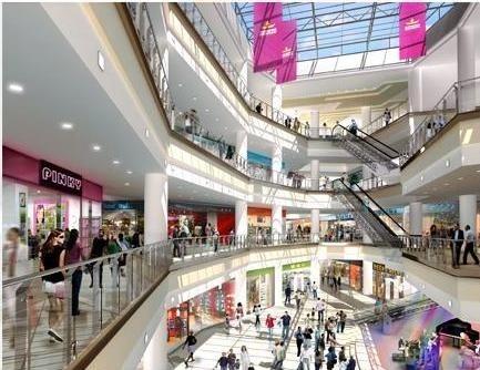 Tak będzie wyglądać Centrum Korona w Braszov. Wizualizacja: Echo Investment