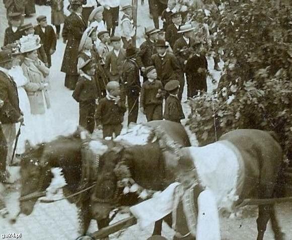 Tak wyglądały obchody 600-lecia Szczecinka - w 1910 roku.