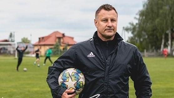 Edward Cecot - trener piłkarzy Skalnika Sulejów