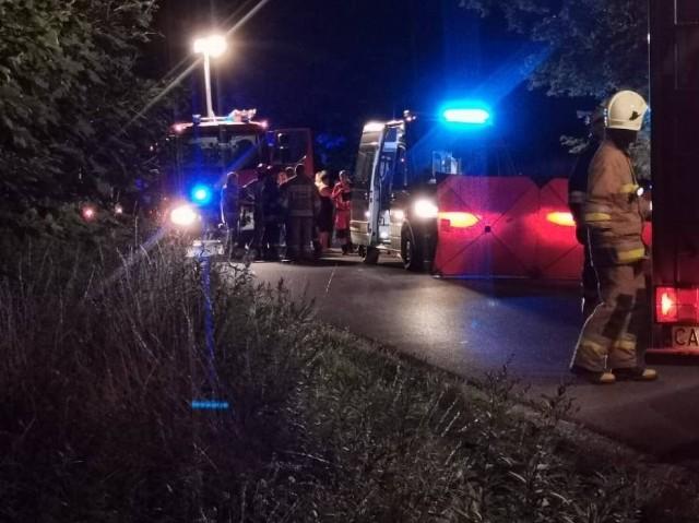 Jeden ze śmiertelnych wypadków miał miejsce w miejscowości Sierzchowo w gminie Waganiec