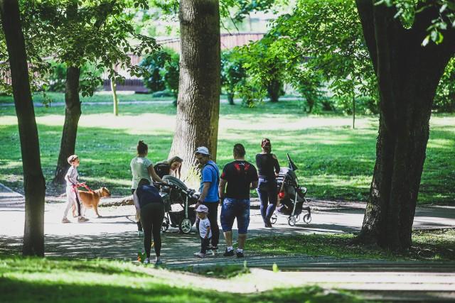 Park Kachla to jedno z ulubionych miejsc wypoczynku bytomian