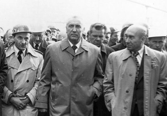 Najważniejszym dygnitarzem, który w czasach PRL-u odwiedził Inowrocław był Edward Gierek, I sekretarz Komitetu Centralnego Polskiej Zjednoczonej Partii Robotniczej