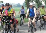 Rajd rowerowy Odjazdowy Bibliotekarz na trasie Kruszwica-Strzelno-Kruszwica