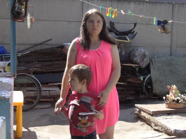 - Jedyne szczęście, jakie mam, to mój syn - mówi Monika Zgoła