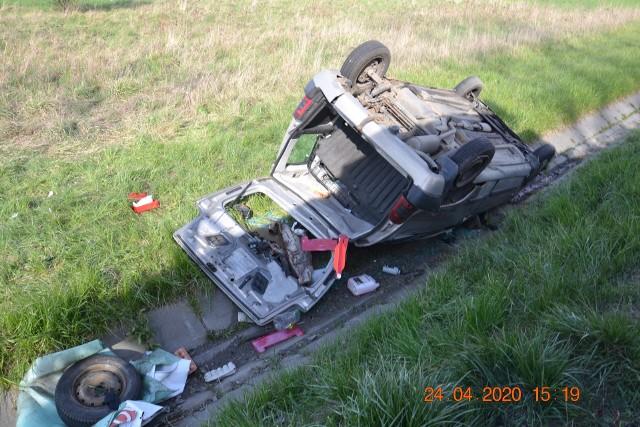 """Do dramatycznego wypadku na skrzyżowaniu DK 94 z ul. Powstania Styczniowego doszło 24 kwietnia. Kilka dni później na feralnej """"krzyżówce"""" znów musiały interweniować służby ratownicze"""