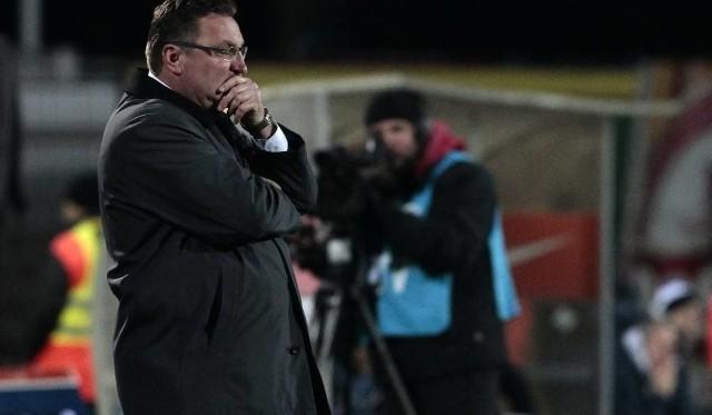 Trener Czesław Michniewicz zgodził się z tym, że Portowcy nie zagrali najlepiej.