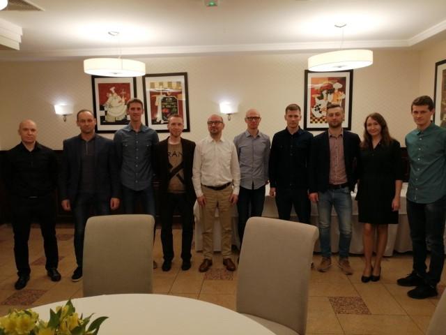 Agrochest Team w pełnej krasie w trakcie podsumowania sezonu w hotelu Ulubiony w Kostrzynie