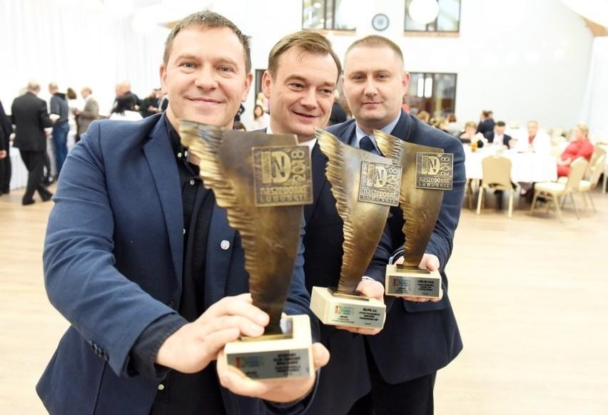 Certyfikaty Nasze Dobre Lubuskie 2018 i statuetki dla...