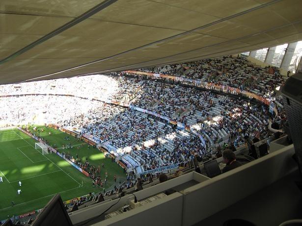 Stadion w Kapsztadzie okazał się szczęśliwy dla Miro Klose i jego kolegów z reprezentacji Niemiec