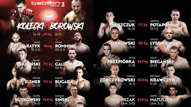 Babilon MMA 4 stream online. Gdzie oglądać za darmo? Transmisja na żywo [Youtube stream 08.06.2018]